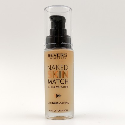 Revers Naked Skin Match Foundation No.4