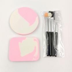 My Beauty Tools mini makeup sponge and brush set (pink)
