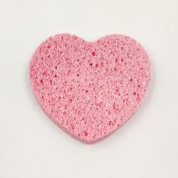 Rose Cosmetics Arclemosó Szivacs (rózsaszín, szív alakú)