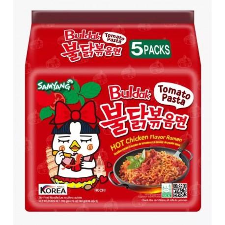 5 pcs Samyang Kimchi Spicy Chicken Roasted Noodles Pack