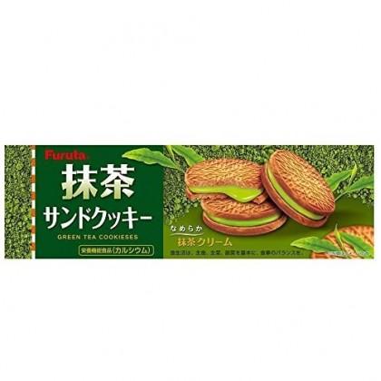 Kabaya Sakusaku Panda Matcha Chocolate Biscuits