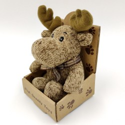 Cute little reindeer plush - light brown