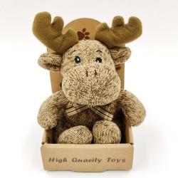 Cute little reindeer plush - light brown