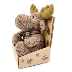 Cute little reindeer plush - brown