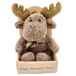 Cute little reindeer plush - brown
