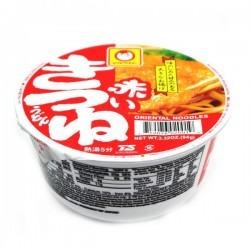 Maruchan Akai Kitsune udon sült tofuval