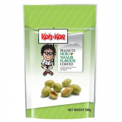 Wasabi nori coated peanuts bag - 180g
