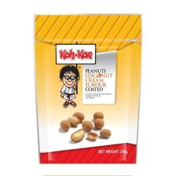 Kókusz ízű mogyoró snack - 210g