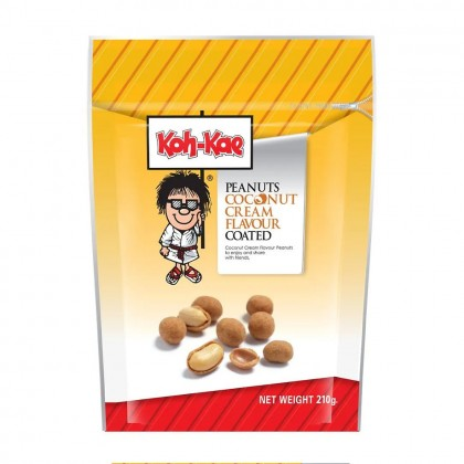 Wasabi nori coated peanuts bag - 180g