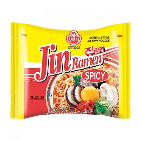 Ottogi Jin Ramen Hot instant tészta