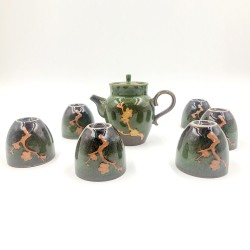 Sakura Jade Tea Set