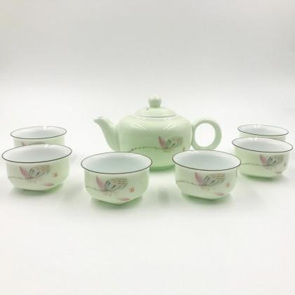 Sakura Jade Tea Set