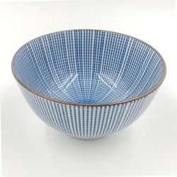 Nippon kék miso leves tálka