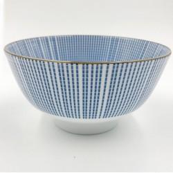 Nippon kék rizses tálka