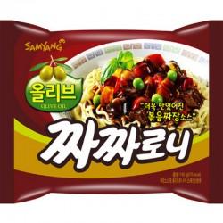 Samyang Chacharoni fekete babos instant tészta