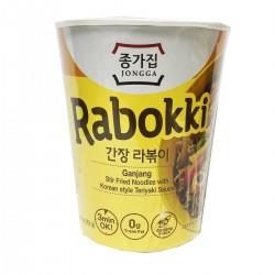 Jongga Rabokki Teriyaki Stir Fry Noodles