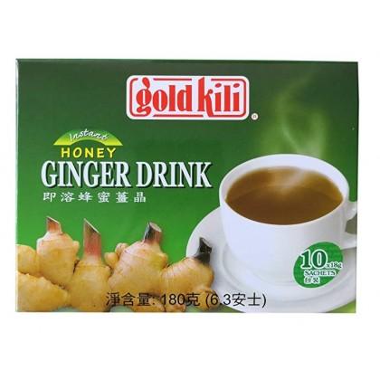 Instant Honey Ginger Tea