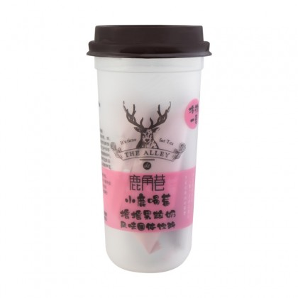 The Alley LJX instant Pitaya milk fruit tea