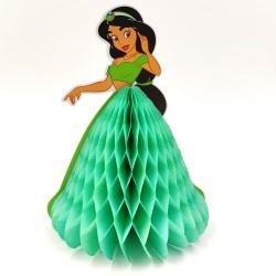 Party asztali dekoráció hercegnős zöld