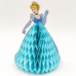 Party asztali dekoráció hercegnős kék