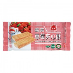 I Mei Cream Wafer - Strawberry