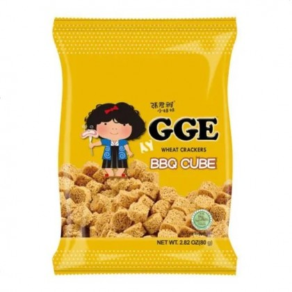 GGE Wheat Crackers BBQ Flavor 80g