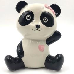 Kawaii Panda with ribbon bushing