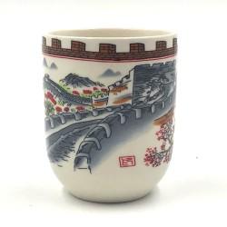 Kínai nagy fal porcelán teáscsésze