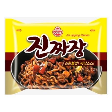 Ottogi Jin Ramen Jjajang instant tészta - 135 g