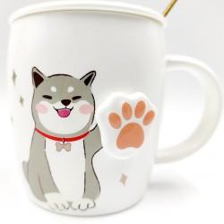 Dog mug Black
