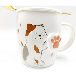 Cute Shiba Inu Mug with 3D paws