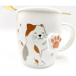 Cute Cat Mug with 3D paws