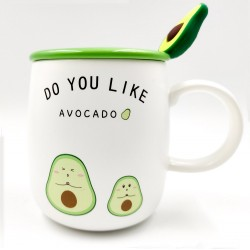 """""""Do You Like"""" Avocado mug"""