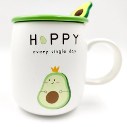 """Sleeping"" Avocado mug"