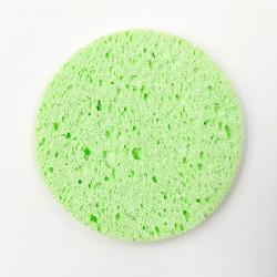 Rose Cosmetics Face Wash Sponge (green, jumbo round-shaped)