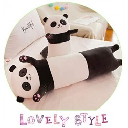 Cute Plush Panda Long Cuddly Sleeping Pillow
