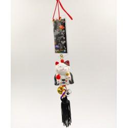 Maneki Neko lucky talisman - Black