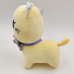 Kawaii yellow cat plush