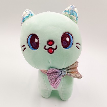 Kawaii yellow cat plush