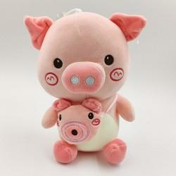 Cute pink pig plush