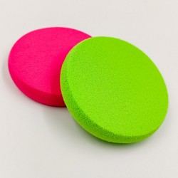 Rose Cosmetics Foundation and Powder Sponge Set (2 pieces)