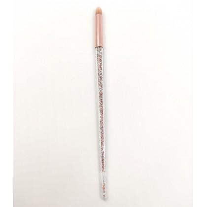 Ruby Face Eyeshadow Blending Brush (glittered)