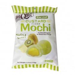 Custard mochi Kiwi flavour