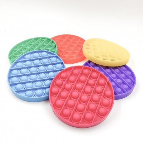 Push pop buborék fidget, anti-stressz játék - kerek alakú
