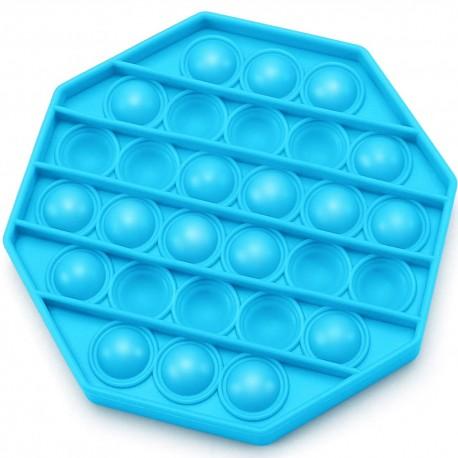 Push pop buborék fidget, anti-stressz játék - nyolcszög alakú
