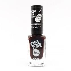 Quiz Gel like nail polish brown No.734