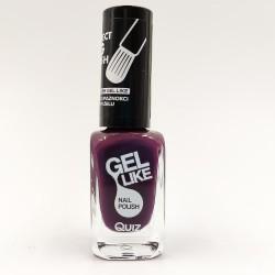 Quiz Gel like nail polish purple No.736