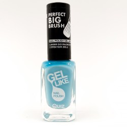 Quiz Gel like nail polish blue No.737