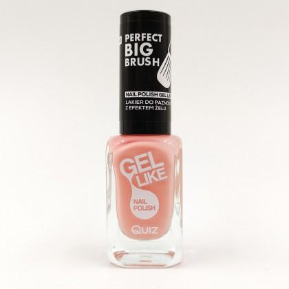 Quiz Gel like nail polish peach No.740