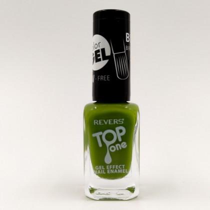 Revers gel effect nail enamel green No.89